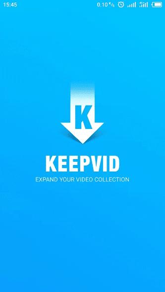 تحميل Keepvid تطبيق تحميل مقاطع الفيديو
