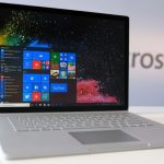 شركة مايكروسوفت تُزود جهاز Microsoft's surface book 2 بالجيل الثامن من مُعالجتها